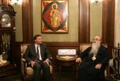 Состоялись встречи митрополита Минского и Слуцкого Филарета с послами Франции и Германии в Республике Беларусь