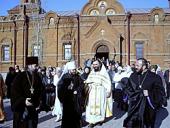Митрополит Волоколамский Иларион совершил Божественную литургию в храме Русской Православной Церкви в Ереване