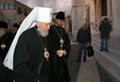 В день памяти святителя Николая Чудотворца Блаженнейший митрополит Киевский Владимир совершил Литургию у мощей святителя в г. Бари