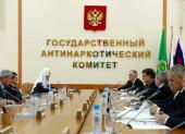Подписано Соглашение о взаимодействии между Государственным антинаркотическим комитетом и Русской Православной Церковью