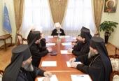 Священный Синод Украинской Православной Церкви постановил совершить три архиерейские хиротонии