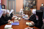 ЖУРНАЛЫ заседания Священного Синода от 24 декабря 2010 года
