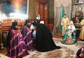 Святейший Патриарх Кирилл совершил наречение архимандрита Никодима (Вулпе) во епископа Единецкого и Бричанского