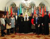 Святейший Патриарх Кирилл встретился с молодежной делегацией Русской Зарубежной Церкви