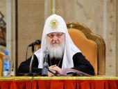 Святейший Патриарх Кирилл: Недопустима практика совершения Таинства Крещения над людьми, к нему не подготовленными