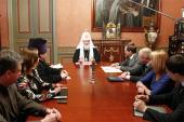 Святейший Патриарх Кирилл обсудил вопросы молодежной политики с членами профильного комитета Государственной Думы