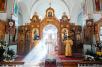 Божественная литургия в Свято-Иоанновском женском монастыре на Карповке