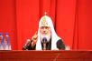 На встрече Святейшего Патриарха Кирилла с преподавателями и студентами МИФИ