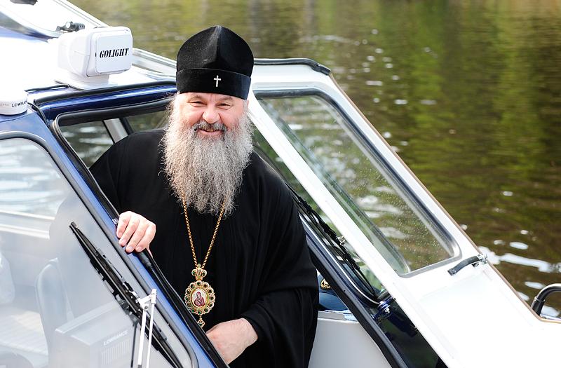 Управляющий делами Московской Патриархии митрополит Саранский и Мордовский Варсонофий