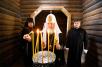 Первосвятительский визит в Карельскую епархию. Лития на месте массовых расстрелов в урочище Сандармох