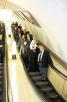 Московский метрополитен. Перед заупокойной литией на месте теракта на станции метро 'Лубянка'