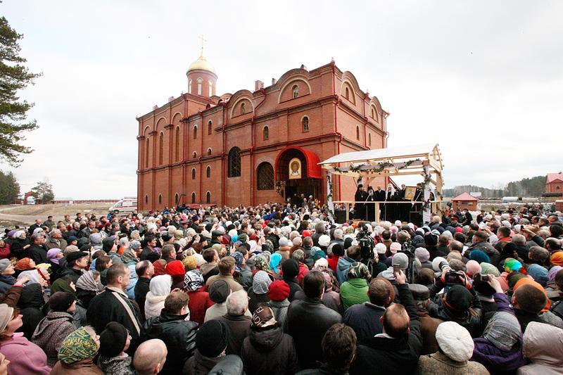Первосвятительский визит в Екатеринбургскую епархию. Посещение Алапаевского монастыря во имя свв. Новомучеников и исповедников Российских