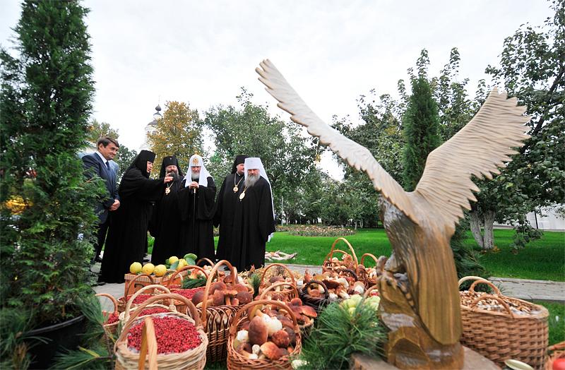 В Свято-Введенском Толгском монастыре