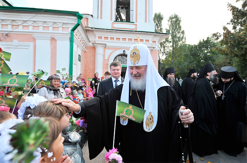 Посещение Спасо-Преображенского собора города Углича