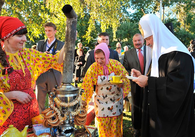 Первосвятительский визит в Ярославскую епархию. Прибытие в Мышкин