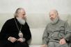 С Блаженнейшим митрополитом Киевским и всея Украины Владимиром