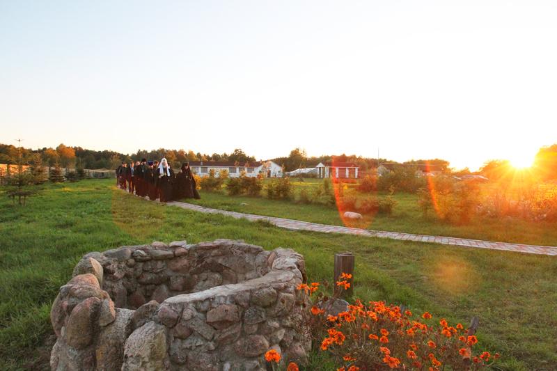Посещение монастыря в честь Державной иконы Божией Матери в поселке Изобильное Полесского района Калининградской области