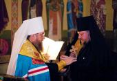 Протоиерей Александр Осокин, избранный во епископа Карагандинского и Шахтинского, пострижен в монашество