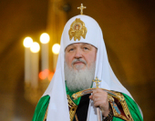 Слово Святейшего Патриарха Кирилла после вечерни в день Рождества Христова
