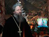 Состоялось празднование юбилея представителя Православной Церкви в Америке при Патриархе Московском и всея Руси архимандрита Закхея (Вуда)