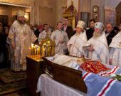 В Вятской епархии простились с митрополитом Хрисанфом