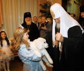 Предстоятель Русской Церкви посетил Патриарший Рождественский праздник в Московском Кремле