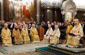 Святейший Патриарх Кирилл совершил хиротонию архимандрита Тихона (Доровских) во епископа Южно-Сахалинского и Курильского