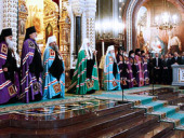 Слово Святейшего Патриарха Кирилла после Божественной литургии в неделю по Богоявлении
