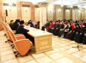 Епископ Зарайский Меркурий встретился с руководителями епархиальных отделов религиозного образования