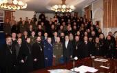 На Рождественских чтениях в Москве обсуждались актуальные проблемы формирования корпуса штатных военных священнослужителей