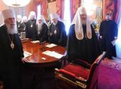 Священный Синод утвердил проекты регламента и повестки дня Архиерейского Собора Русской Православной Церкви