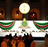 В московском Гостином дворе состоялся прием по случаю второй годовщины интронизации Предстоятеля Русской Церкви