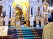 Во вторую годовщину интронизации Святейшего Патриарха Кирилла ряд архиереев Русской Православной Церкви удостоены церковных наград
