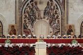 Завершился первый день работы Освященного Архиерейского Собора Русской Православной Церкви