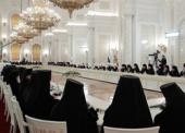 Участники Архиерейского Собора Русской Православной Церкви встретились с Президентом России Д.А. Медведевым