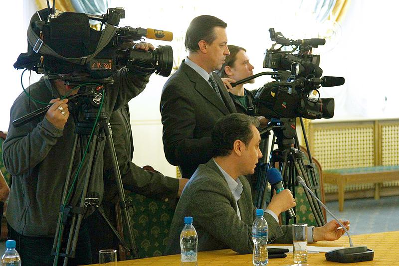 Пресс-конференция по итогам работы Архиерейского Собора в Храме Христа Спасителя