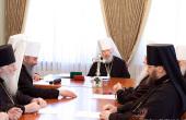 В Киево-Печерской лавре проходит заседание Священного Синода Украинской Православной Церкви