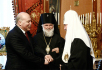 Встреча Святейшего Патриарха Кирилла с губернатором Иркутской области Д.Ф. Мезенцевым