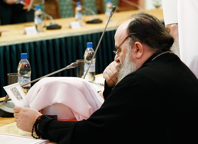 Совещание руководителей Синодальных учреждений Русской Православной Церкви