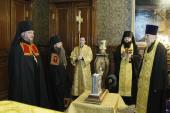 Предстоятель Русской Церкви возглавил чин наречения архимандрита Севастиана (Осокина) во епископа Карагандинского и Шахтинского