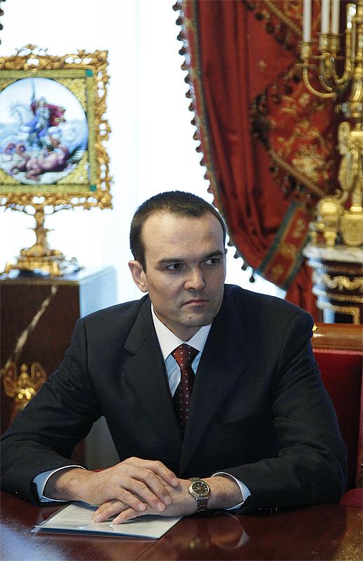 Встреча Святейшего Патриарха Кирилла с президентом ...
