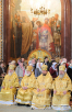 Патриаршее служение в Храме Христа Спасителя в неделю о блудном сыне. Хиротония архимандрита Севастиана (Осокина) во епископа Карагандинского и Шахтинского