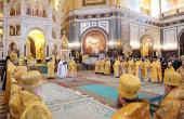 Святейший Патриарх Кирилл совершил хиротонию архимандрита Севастиана (Осокина) во епископа Карагандинского и Шахтинского