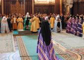 Слово Святейшего Патриарха Кирилла при вручении жезла Преосвященному Севастиану, епископу Карагандинскому и Шахтинскому