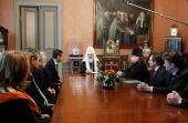 Предстоятель Русской Церкви обсудил перспективы реализации закона «О передаче религиозным организациям имущества религиозного назначения»