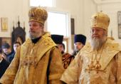 Предстоятель Православной Церкви Чешских земель и Словакии совершил Божественную литургию в Знаменском соборе Русской Зарубежной Церкви в Нью-Йорке