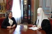 Состоялась встреча Святейшего Патриарха Кирилла с послом Израиля в России