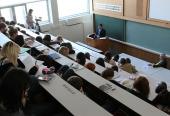Председатель Синодального информационного отдела провел мастер-класс для студентов факультета телевидения МГУ