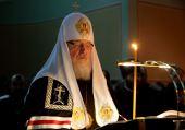 Святейший Патриарх Кирилл совершил чтение Великого канона прп. Андрея Критского в Донском монастыре