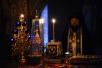 Патриаршее служение в четверг первой седмицы Великого поста. Чтение канона прп. Андрея Критского в Новоспасском монастыре